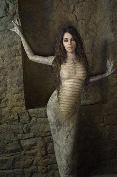 Sexy Snake Woman