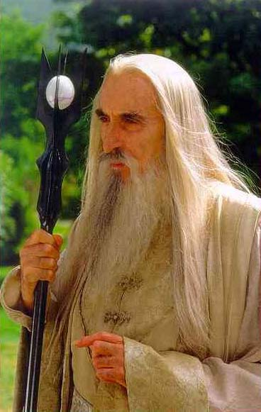 Christopher Lee Lored of the Rings