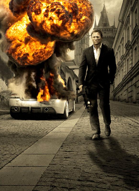 Daniel Craig as Agent 007