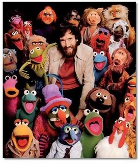 Jim Henson and his Muppets