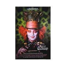 Disney Alice In Wonderland Original, Authentic Movie Poster 2009