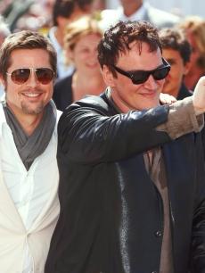 Brad Pitt and Quentin Tarantino