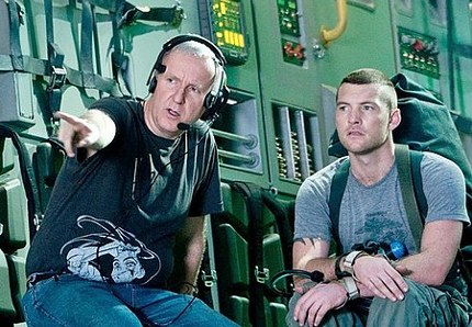 Dir. James Cameron and 'Avatar' star Sam Worthington