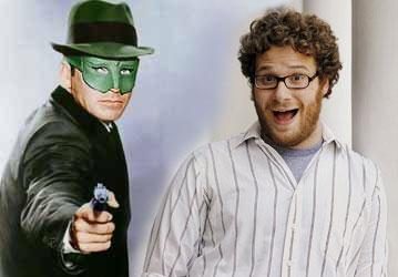 Green Hornet and Seth Rogen