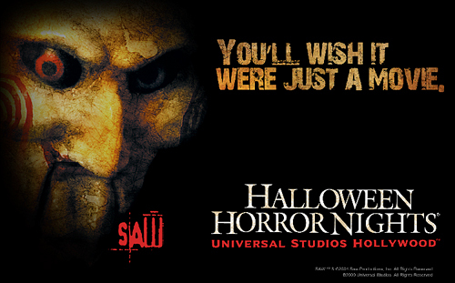 Hollywood Horror Nights 2009 Saw Jigsaw