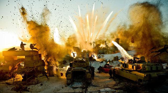 John Frazier's work in  'Transformers'