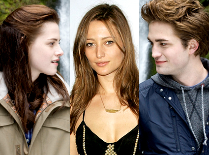 Kristen Stewart, Noot Seear and Robert Pattinson