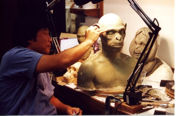 Moto Hata doing work for Planet of the Apes