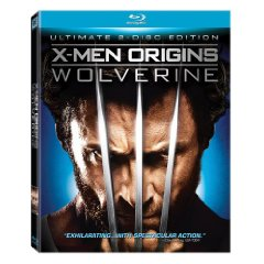 X-Men Origins Wolverine on Blu Ray DVD