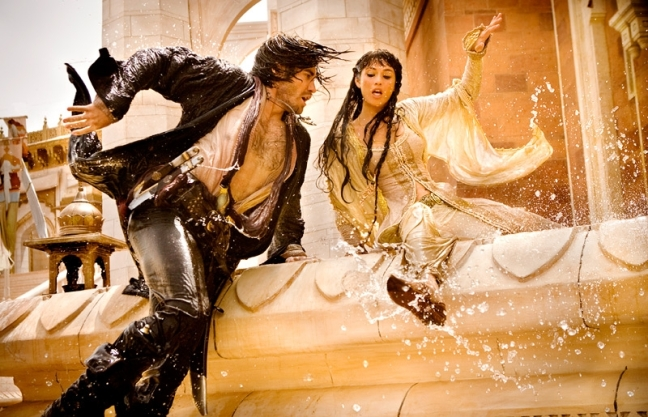 Jake Gyllenhaal and Gemma Arterton in The Prince of  Persia