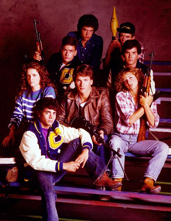 original Red Dawn cast