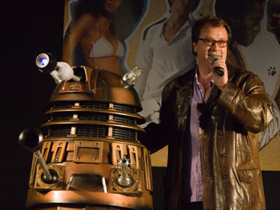 Russell T. Davies and dalek