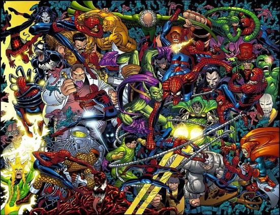 spidermans villains