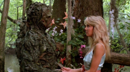 The Swamp Thing and Heather Locklear