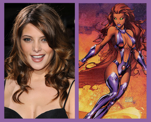 Ashley Greene and Starfire