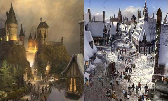 harry potter world theme park. Harry Potter theme park