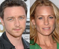 James McAvoy and Robin Wright Penn