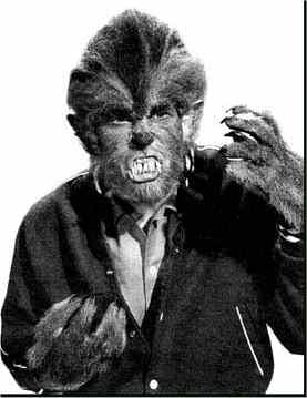 Michael Landon in 'I was a Teenage Werewolf'