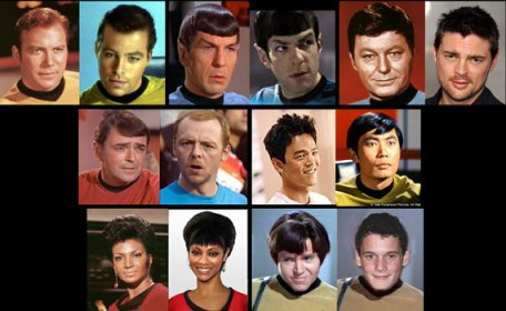Star Trek Crew, Old and New