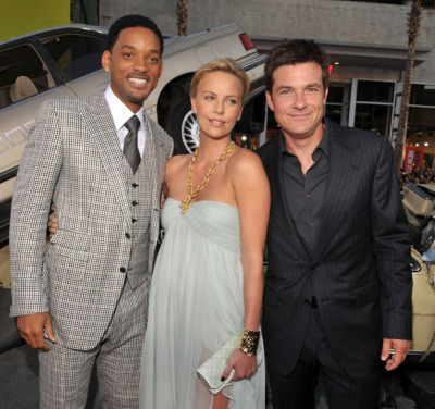 Will Smith, Charlize Theron and Jason Bateman