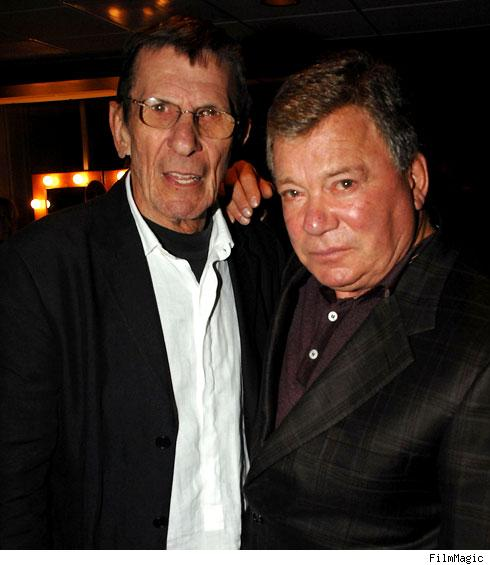 Leonard Nimoy and William Shatner