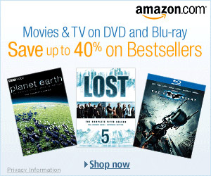Best Selling Amazon DVD's