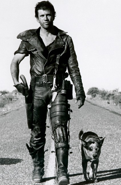 young mel gibson mad max. Mel Gibson as Mad Max