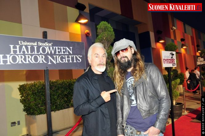 Rick Baker and Rob Zombie
