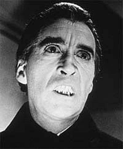 Vampire Christopher Lee